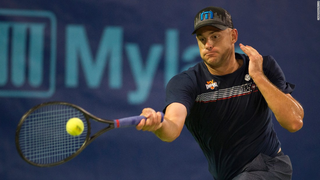 Former men's No. 1 and 2003 US Open champion Andy Roddick also played for the franchise in 2016.