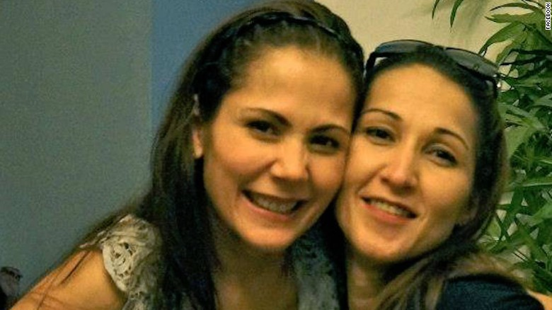 Maria Aurora Moynihan, right, and sister, actress Maritoni Fernandez. Moynihan was shot dead in Manila on September 10, 2016.