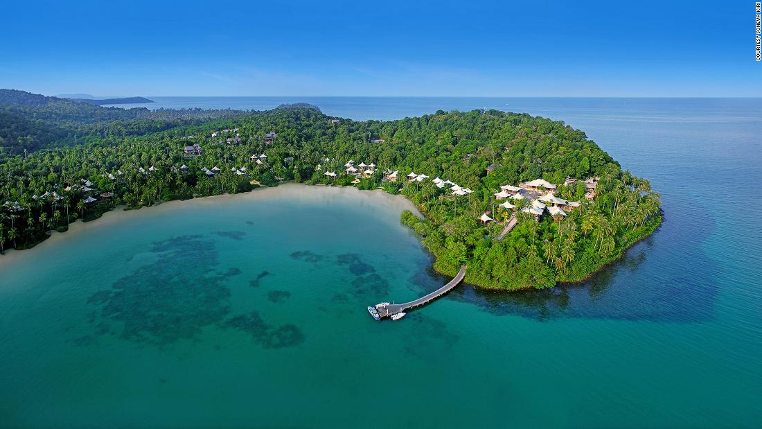 Some beach hotels are more beautiful than others. With only 36 thatched villas wedged between the jungle and the ocean, Soneva Kiri is one of Thailand's most luxurious and exclusive beachfront escapes.