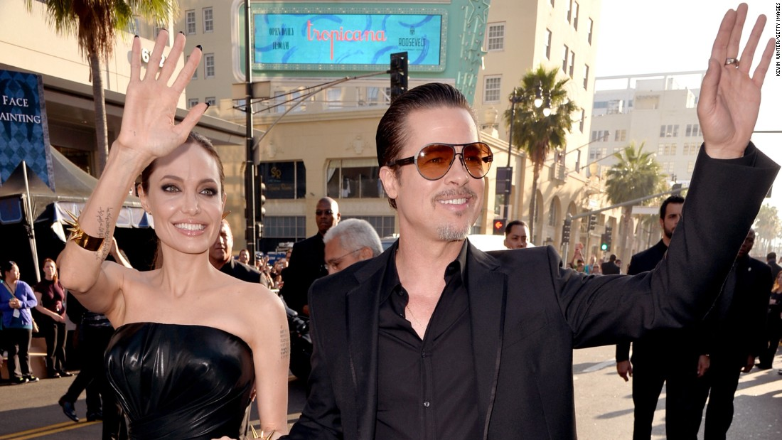 Angelina Jolie opens up about her divorce
