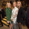 burberry Clara Paget, Adwoa Aboah and Cara Delevingne