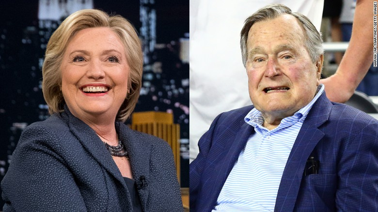 A Kennedy says a Bush is voting for a Clinton