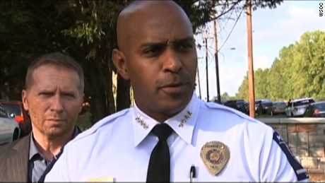 Charlotte police shooting: Scott had a gun, not a book, chief says