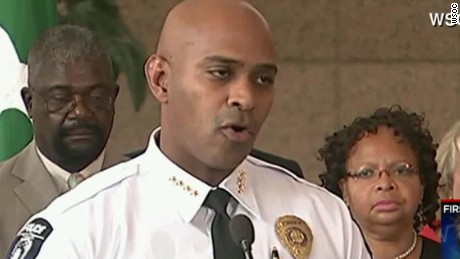 Chief: Scott was told to drop his gun