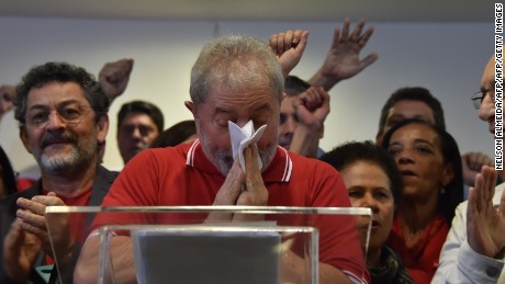 Former Brazilian President Luiz Inacio Lula da Silva has denied any wrong doing after corruption charges were filed against him.