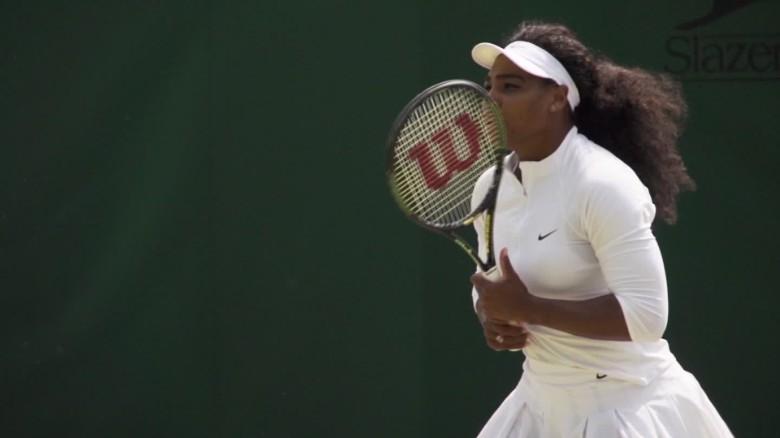 Coach of tennis star Serena Williams discusses record_00014922