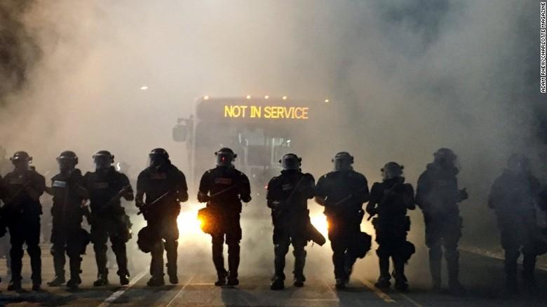 Protests erupt after officer kills man