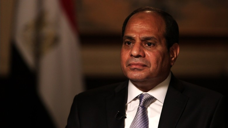 Egypt president: No doubt Trump would be strong leader