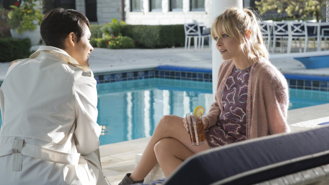 "Anika (Grace Gealey), left, and Rhonda (Kaitlin Doubleday) ended season 2 of ""Empire"" with a fight on a balcony which ended with one of them falling off. The season 3 premiere revealed it was Rhonda who fell to her death. Here are some other small-screen deaths that shocked us (stop here if spoilers aren't your thing)."