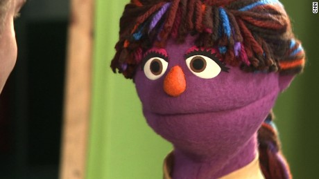 Zari the Afghani muppet