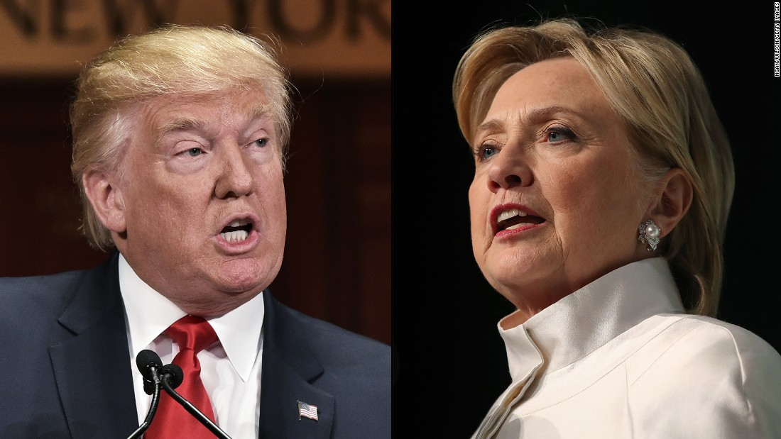 Clinton tops Trump 49% to 44% in new CNN/ORC poll