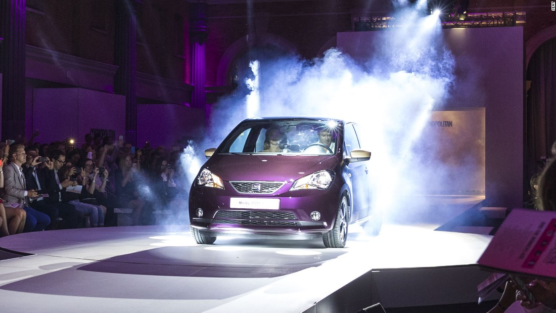 Lifestyle publication Cosmopolitan and autos manufacturer SEAT are facing fierce criticism over their joint unveiling of a new car.