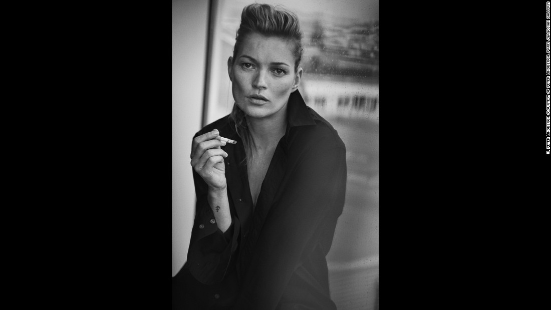 Kate Moss in Giorgio Armani for Vogue Italia, Paris, 2015