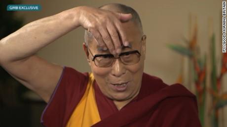 Dalai Lama Trump impression 2