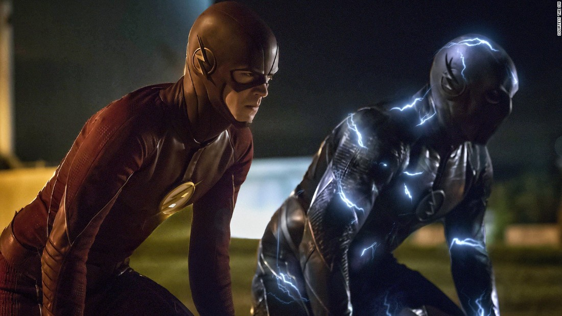 "<strong>""The Flash"" Season 2: </strong> DC Comics character Barry Allen / Flash can move at superhuman speeds."