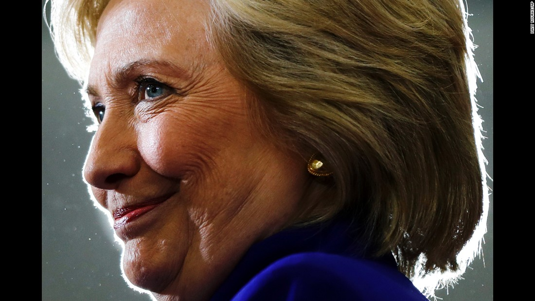 Democratic presidential nominee Hillary Clinton makes a campaign stop in Orlando on Wednesday, September 21.