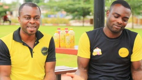 The Abolaji brothers are hoping to build a juice empire