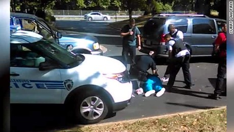 Video shows moments before Keith Lamont Scott's shooting