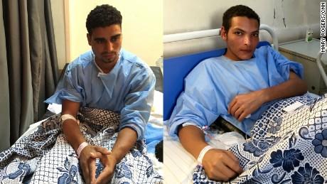 Metwally Mohamed (left), Ahmed Mohamed (right)