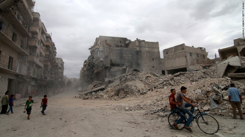 US suspends talks with Russia over Syria