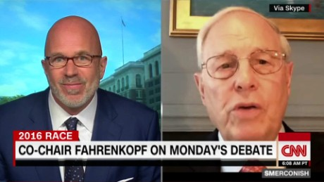 Fahrenkopf: Mark Cuban will not sit in front row of debate_00004316