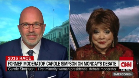Carole Simpson on First Debate_00013303.jpg