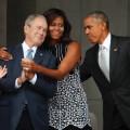 bush obama African American history museum