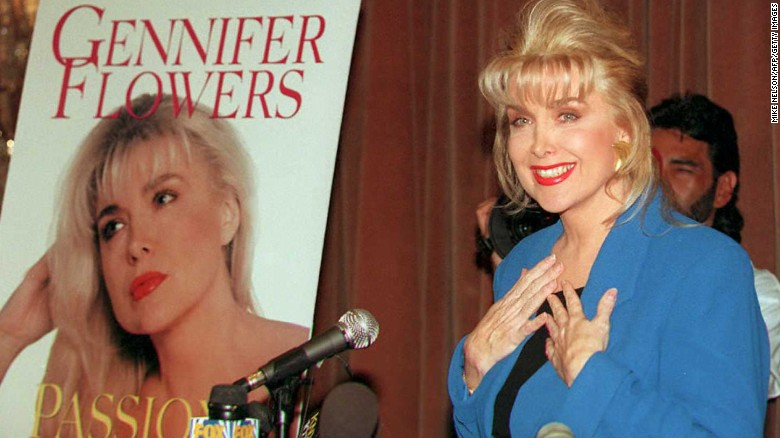 Will Gennifer Flowers be at the preisdential debate?