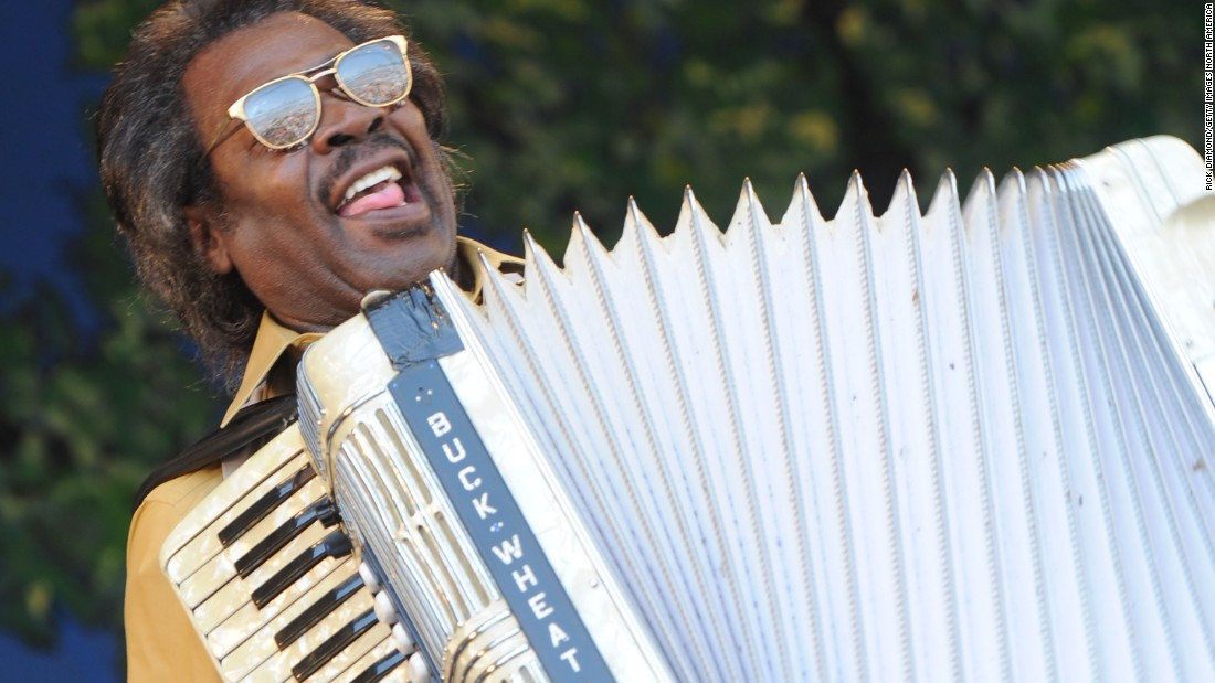 "Grammy and Emmy Award winner <a href=""http://www.cnn.com/2016/09/25/entertainment/stanley-dural-buckwheat-zydeco-dead/index.html"">Stanley Dural Jr., also known as Buckwheat Zydeco,</a> died September 26 in Lafayette, Louisiana, at the age of 68."