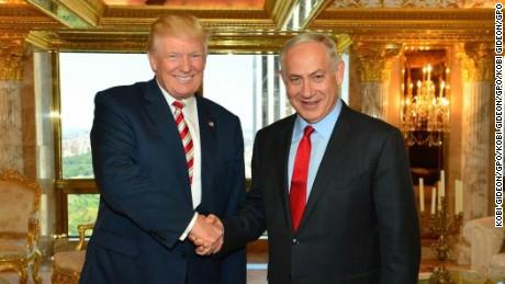 Israeli Prime Minister Benjamin Netanyahu met Republican Presidential candidate Donald Trump at Trump Tower on Sept. 25, 2016.