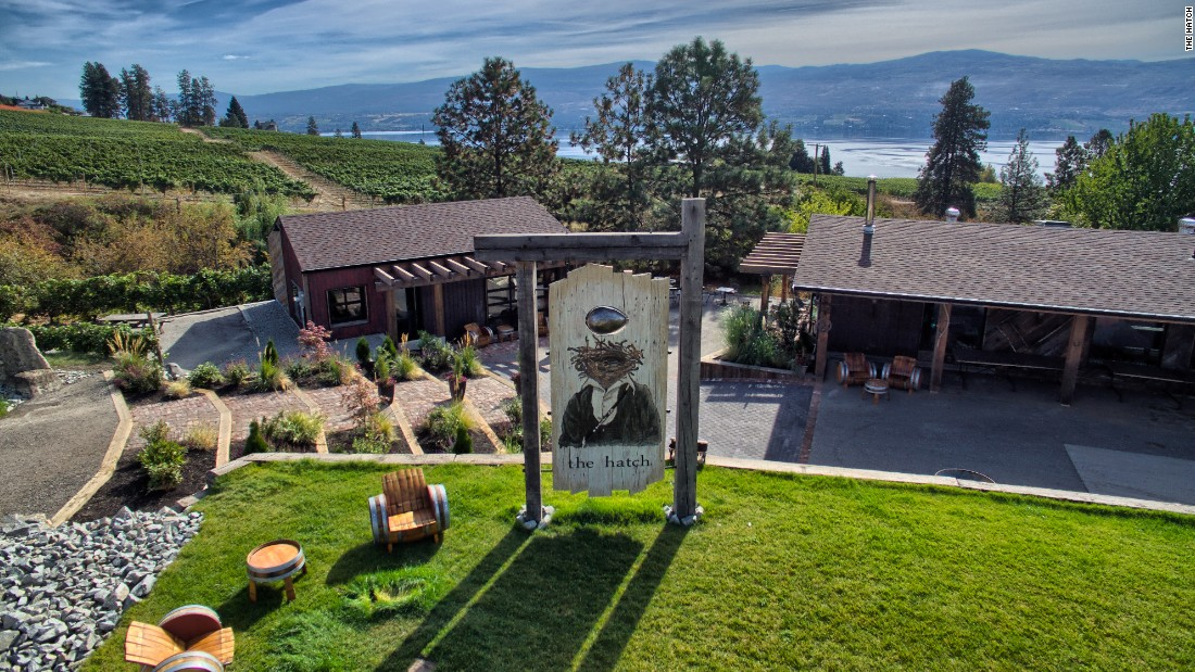 Quirky Charm In Canadian Wine Country - CNN.com