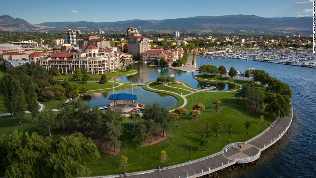 Kelowna, a city of 117,000, sits at the center of the fast-growing wine region.