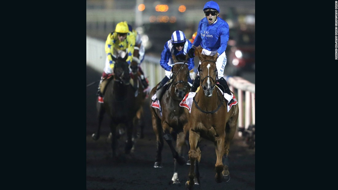 His most notable victory was at the prestigious Dubai World Cup in 2014 riding for the mighty Godolphin stable.