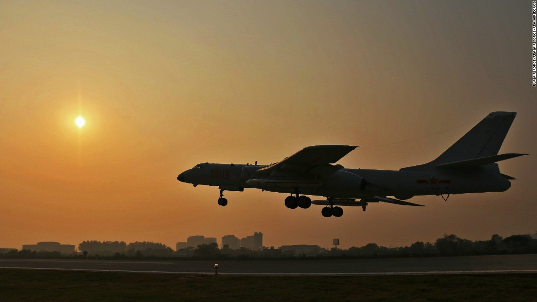 US official: China puts bombers on 'high alert'