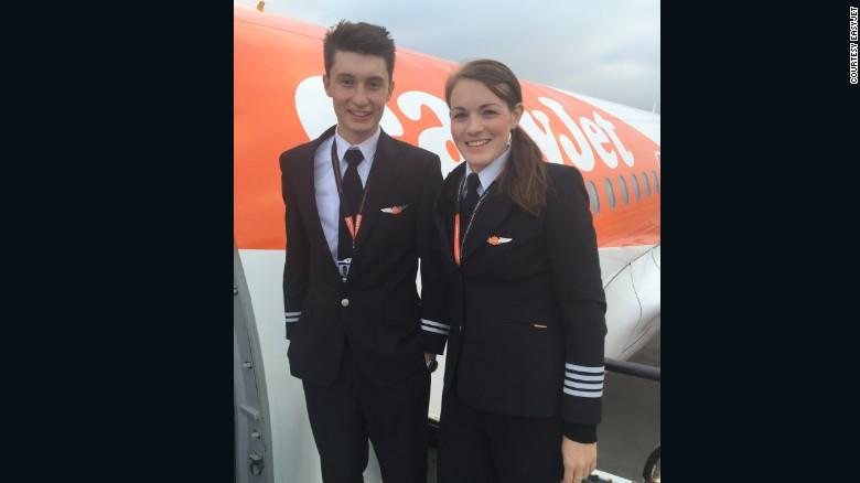 EasyJet Captain – 26 yo; and Her Co-pilot – 19 yo!