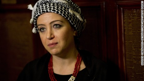 Syrian journalist Zaina Erhaim has won a number of awards for her work from Syria.