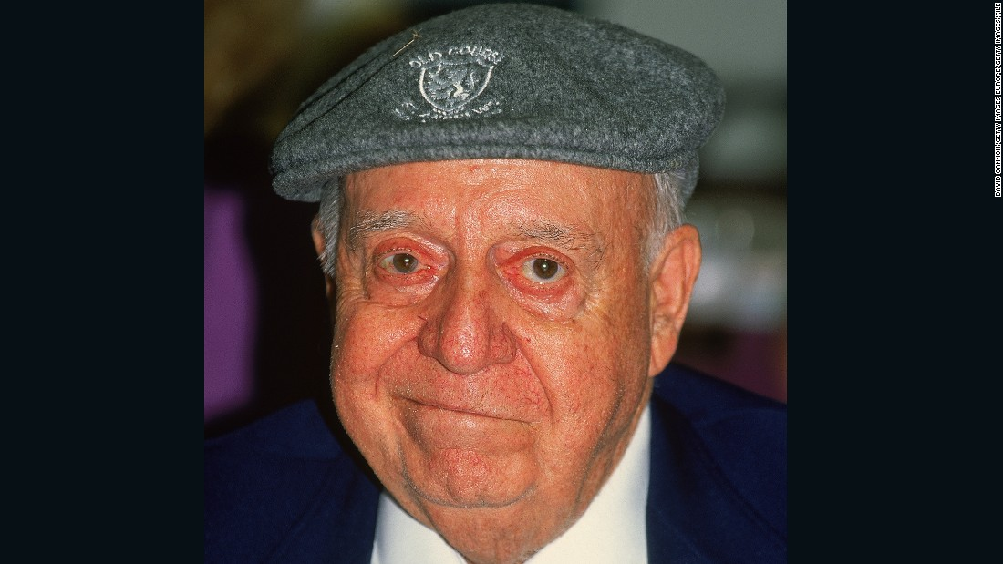 Hazeltine was created by Robert Trent Jones Sr. -- Rees' father -- who is pictured at the 1991 US Open.