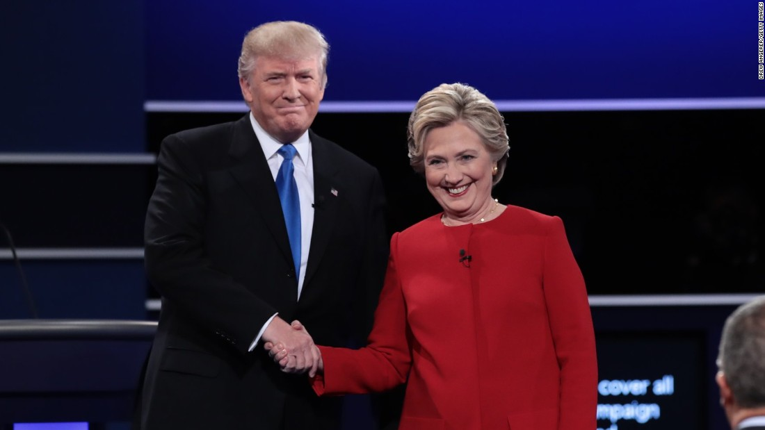 The debate was attracting worldwide interest, with a television audience expected to approach 100 million.