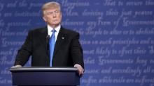 Presidential Debate: Hillary Clinton puts Donald Trump on defense ...