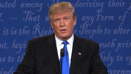 Donald Trump defends tax cuts for the wealthy
