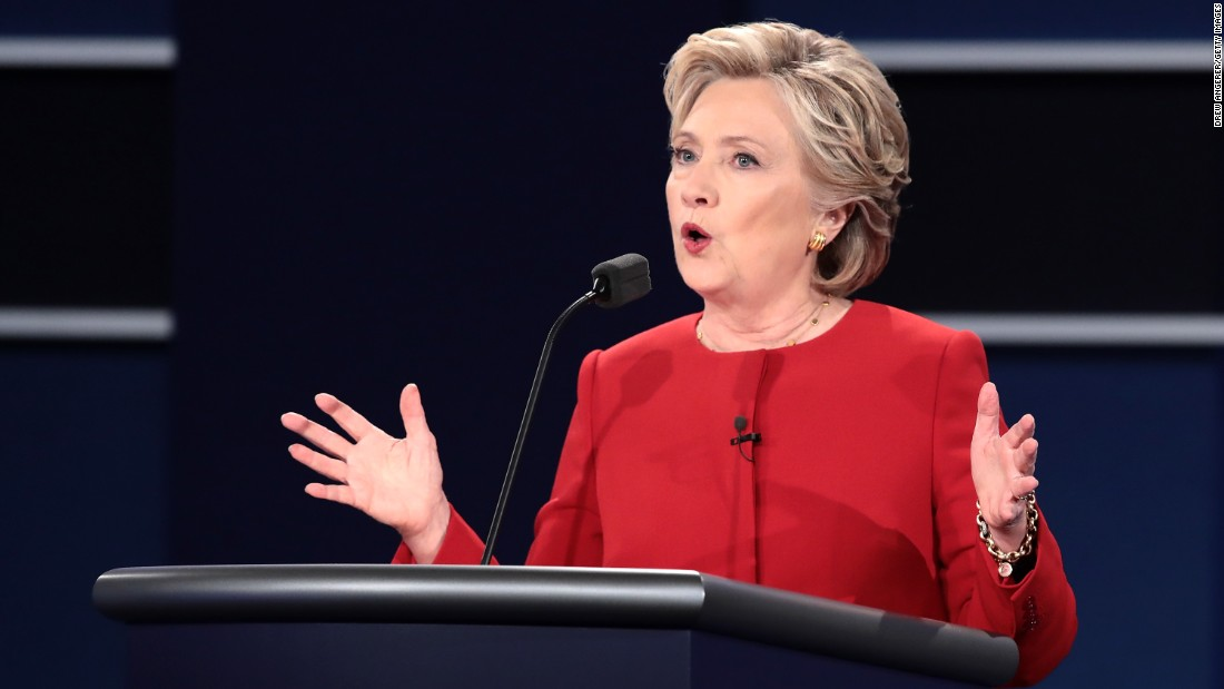 How Clinton handled Trump could energize undecided women