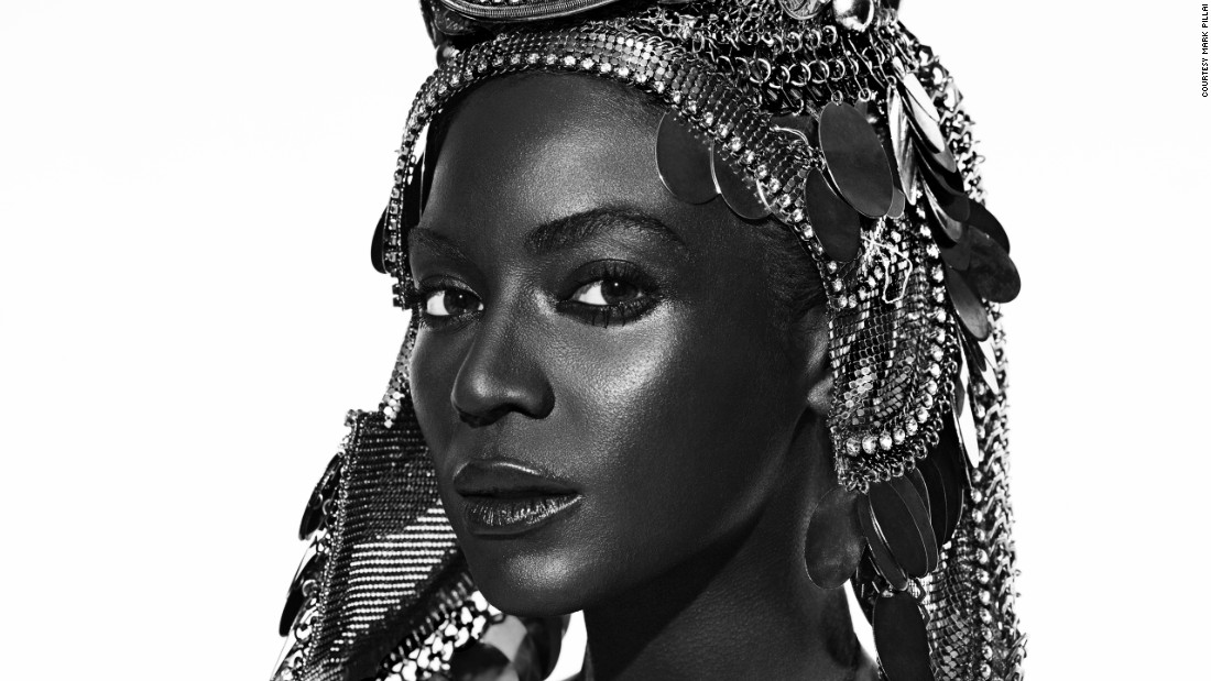 When asked to creative direct Parisian fashion title L'Officiel's 90th anniversary edition, Taille insisted the magazine put a woman of color on the cover and enlisted Beyoncé for the shoot.