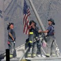 911 firefighters flag RESTRICTED