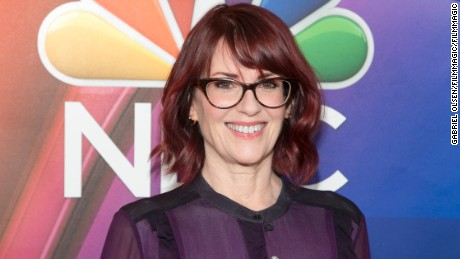 Megan Mullally arrives for the 2016 Winter TCA Tour in Pasadena, California. (Photo by Gabriel Olsen/FilmMagic)