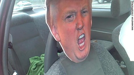 Trump face carpool lane