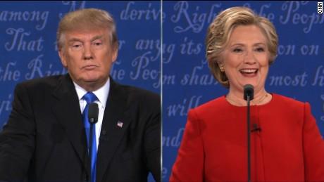Trump sniffles debate