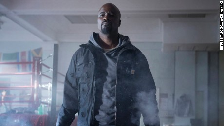 Mike Colter stars in the NETFLIX original Marvel's Luke Cage.