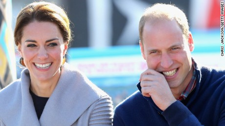CARCROSS, BC - SEPTEMBER 28:  Catherine, Duchess of Cambridge and Prince William, Duke of Cambridge watch a cultural welcome in Carcross during the Royal Tour of Canada on September 28, 2016 in Carcross, Canada. Prince William, Duke of Cambridge, Catherine, Duchess of Cambridge, Prince George and Princess Charlotte are visiting Canada as part of an eight day visit to the country taking in areas such as Bella Bella, Whitehorse and Kelowna  (Photo by Chris Jackson/Getty Images)