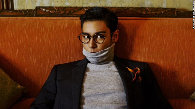 A private view of a Sotheby's auction with T.O.P.
