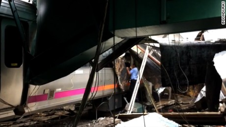 hoboken train crash aftermath